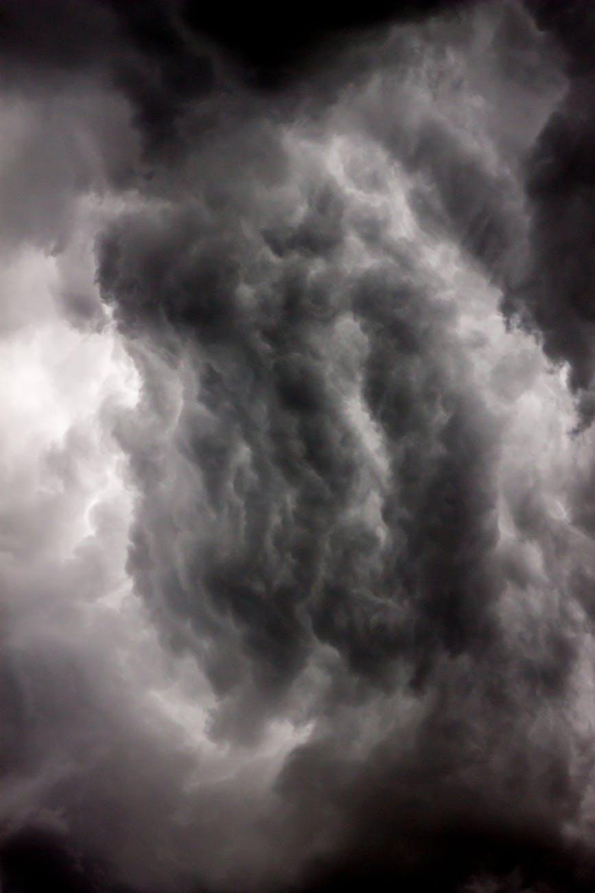 photo of dark clouds